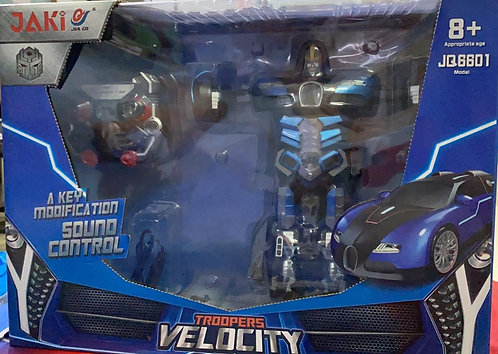 Rechargeable Trooper Velocity Transforming Robot