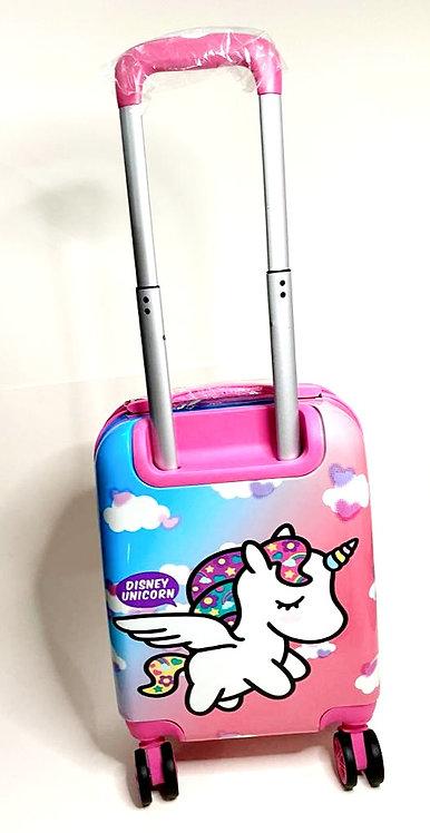Diseny Unicorn Wheels Trolley Bag/Travel Luggage Bag