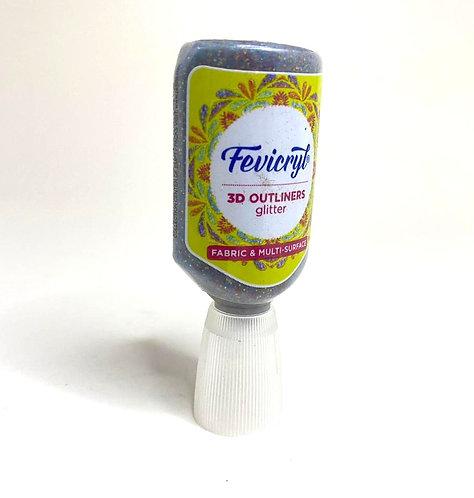 Fevicryl 3D outliner glitter (rangoli,20 ml )