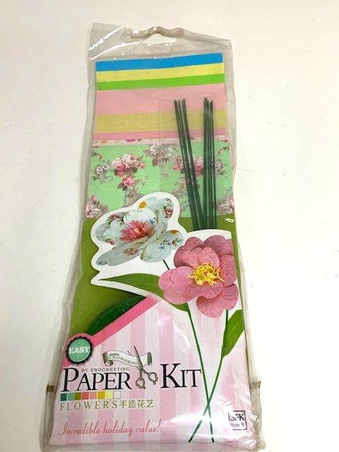 Flower Paper model kit