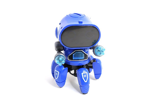 Toyshine bot robot pioneer/colour lights and music /all direction movement