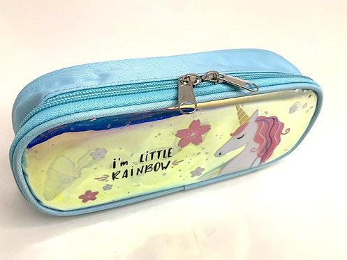 Liquid Filled Sequin Unicorn Pencil Case