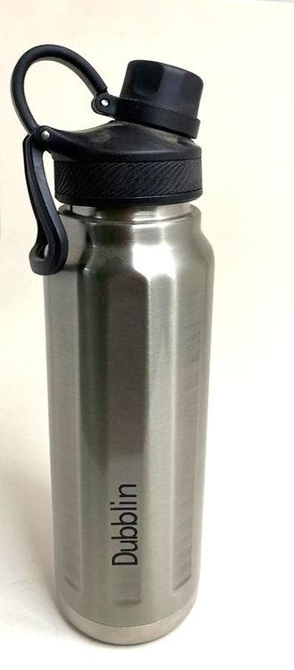 Dubbblin  Stainless Steel Water Bottle ( 900 ml )