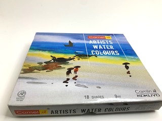 CAMELIN water colours (18 shades )