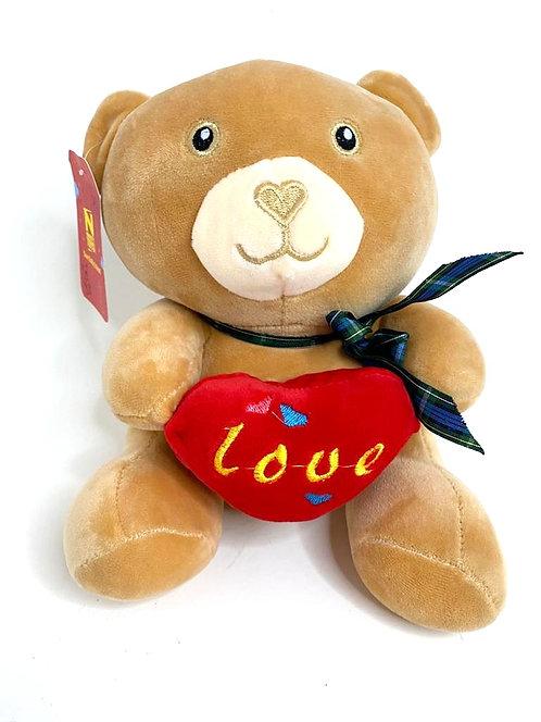 Stuff Brown Teddy(18x14cm)
