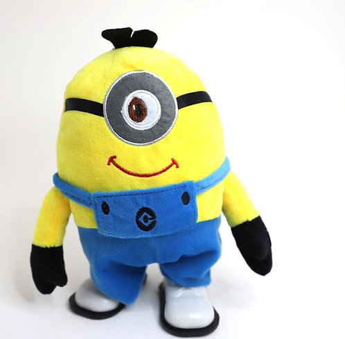 minion character stuffed soft toys with music