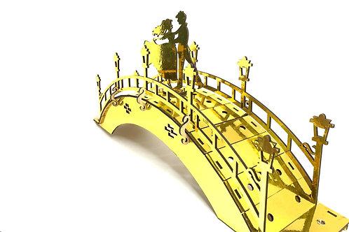 Wooden Decorative Golden Bridge