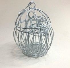 decorative iron cage (set of 3 )