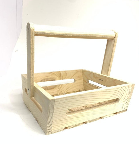 Wooden Basket For decoration/projects (small)