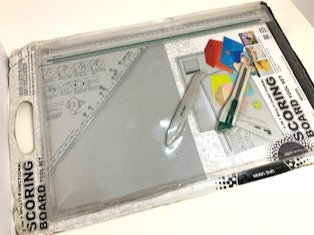 "Scoring board tool set (size 18""by 12"""