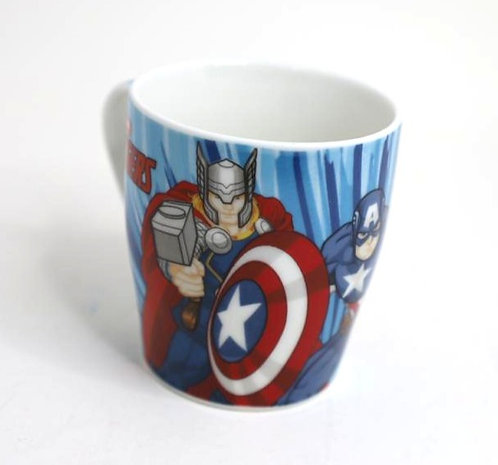 Marvel Ceramic Avengers Round Mug ( 350 ml )