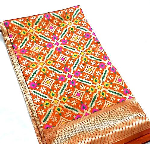 Exclusive Patola silk saree