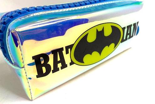 Batman Superhero Printed PVC Big Zip Pencil Pouch