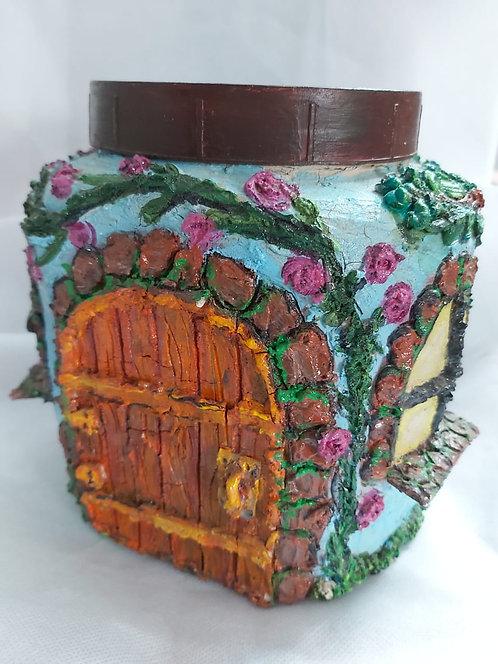 Decorative multipurpose jar