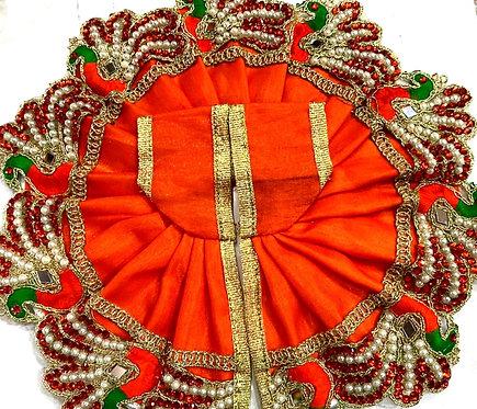 heavy hand work bal gopal poshak ( size 5 )