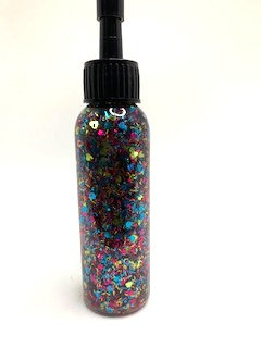 multi colour glitter