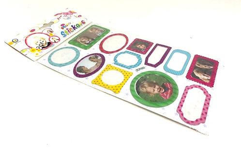Photo Stickers ( 12 pcs ) ( for scrap book )
