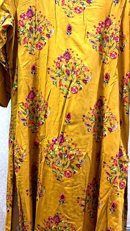 Rayon cloth stylish plazzo set