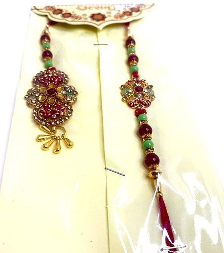 Exclusive designer rakhi for brother