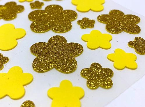 Glitter Sticker (foam sheet)