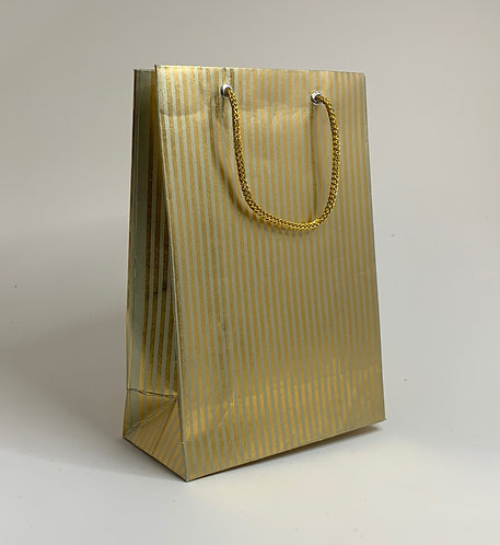 Golden Decorated Paper Bag