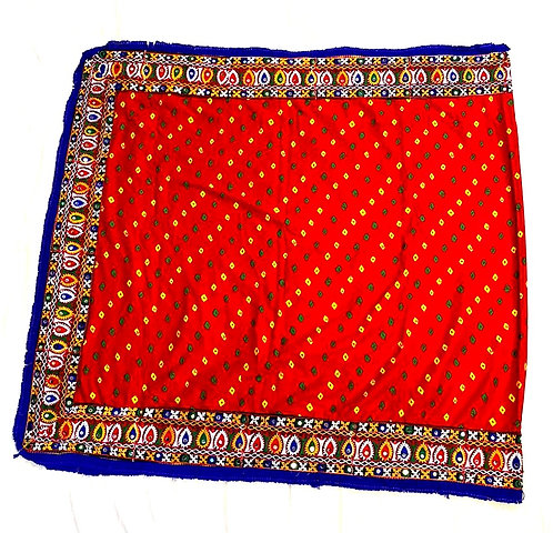 Exclusive  Pure cotton heavy border, heavy work, dupatta (aprrox ,2.5 meter )