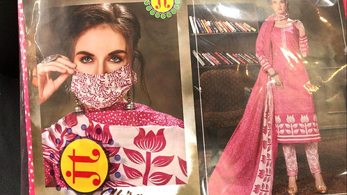 Pure sofft Cotton Dress Material With Cotton Dupatta