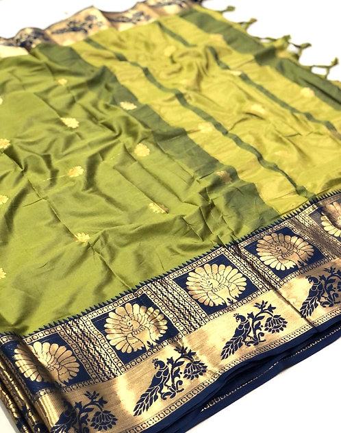 Silk Saree ( with blouse )