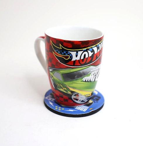 HOTWHEELS CERAMIC COFFEE MUG