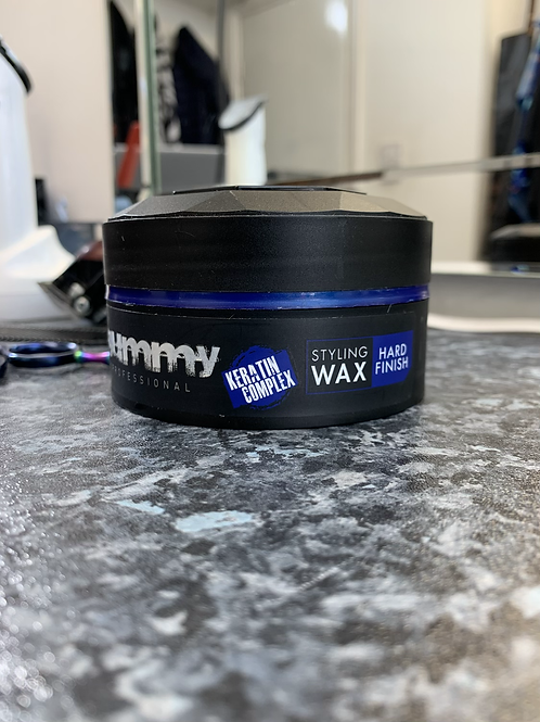 Blue hard wax