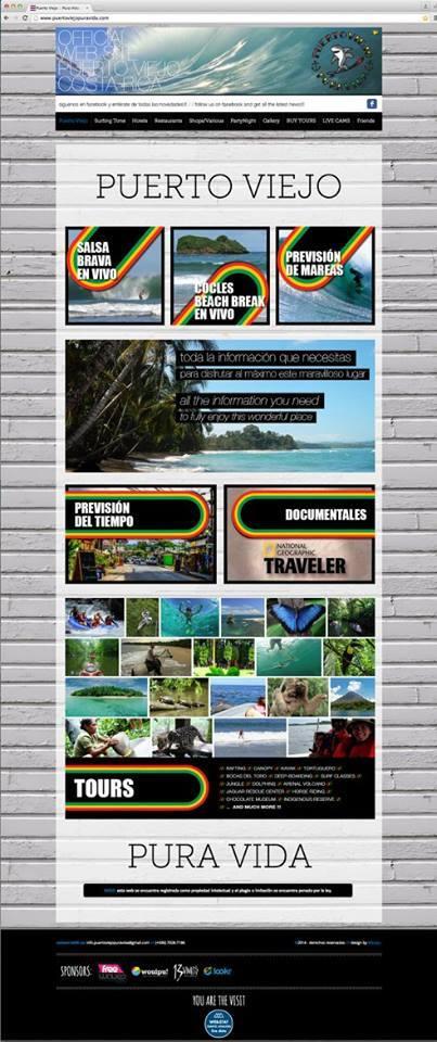 Diseño Web /// Turística por MATTERIA CREATIVA.
