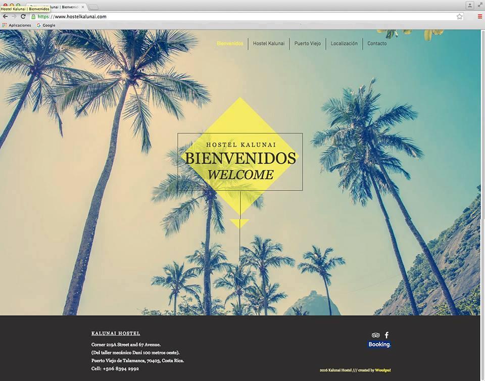 Diseño Web /// Hotel por MATTERIA CREATIVA.