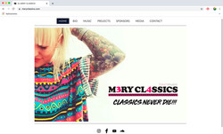 Diseño Web /// Presskit Digital por MATTERIA CREATIVA.