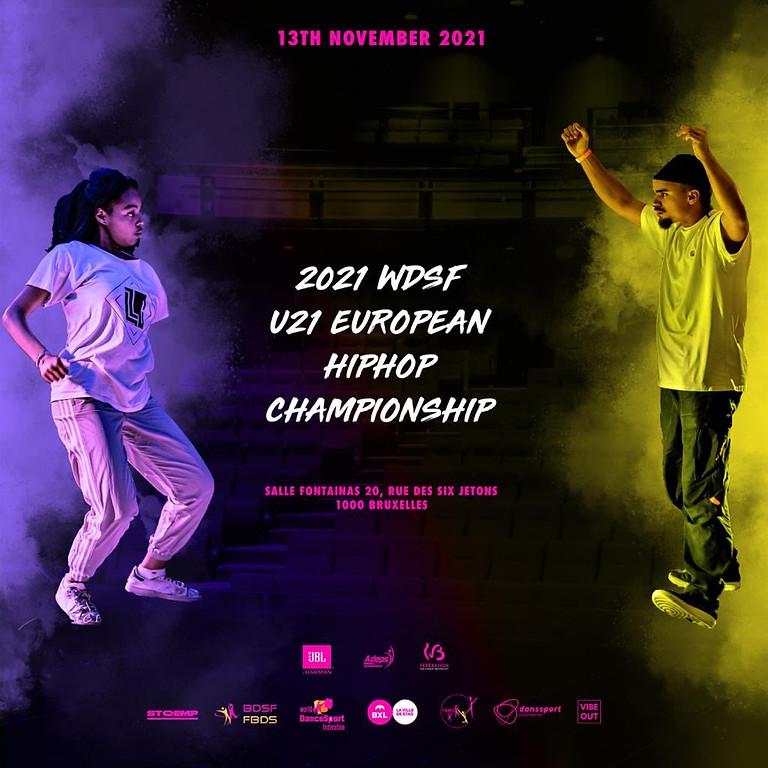 EUROPEAN CHAMPIONSHIP U21 HIPHOP FREESTYLE