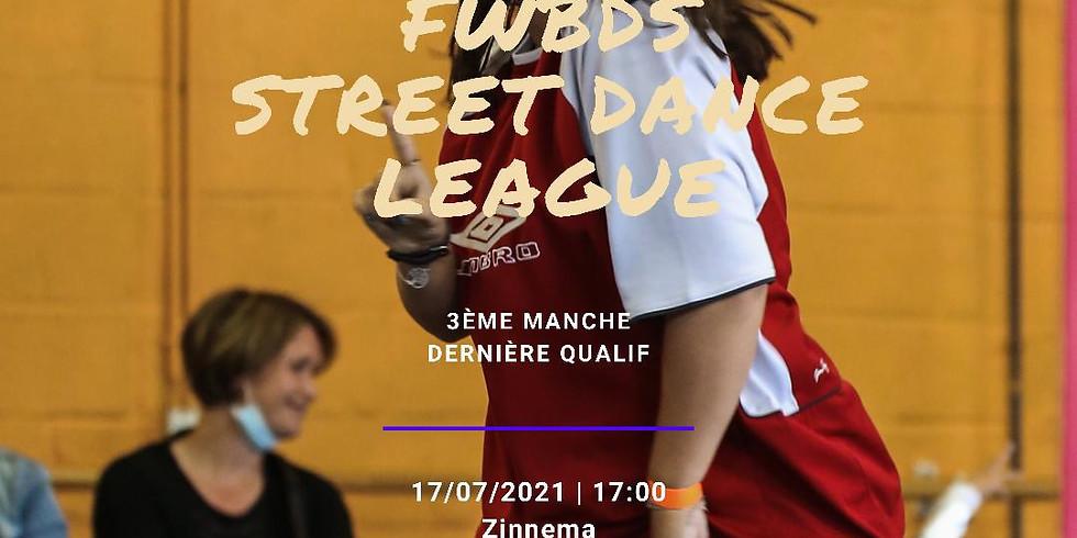 FWBDS Street dance League 3ème journée