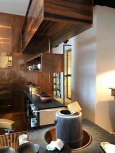 Stunning interior design space at Sakurai Tea Experience