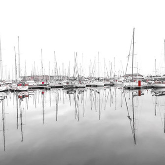 The picturesque harbour of Saint-Malo