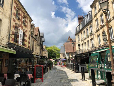 The streets and alleyways of Saint-Malo