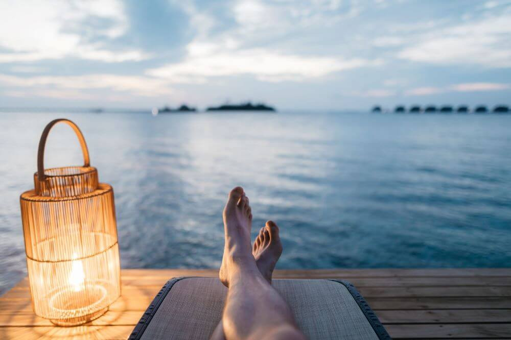 Relax and take time out with financial independence
