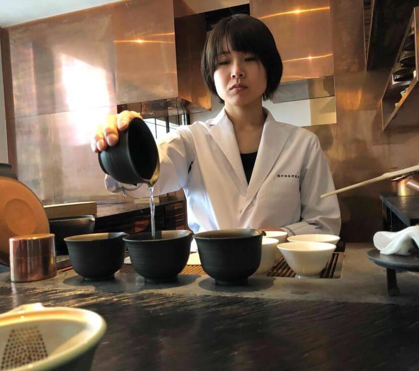 Tea Master at Sakurai Tea Experience