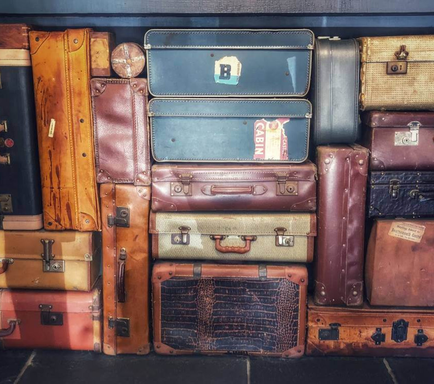 A pile of baggage trunks - we review the Takkyubin forwarding service