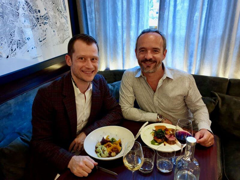 Review of our dinner at Caractère restaurant in Notting Hill London