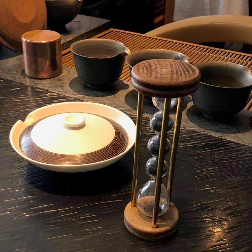 Gorgeous teaware at Sakurai Tea House