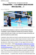Article du 2020.11.21 LGEvolley Covid19 01