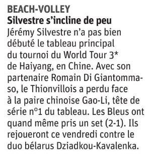 Article du 2018.07.20 Beach