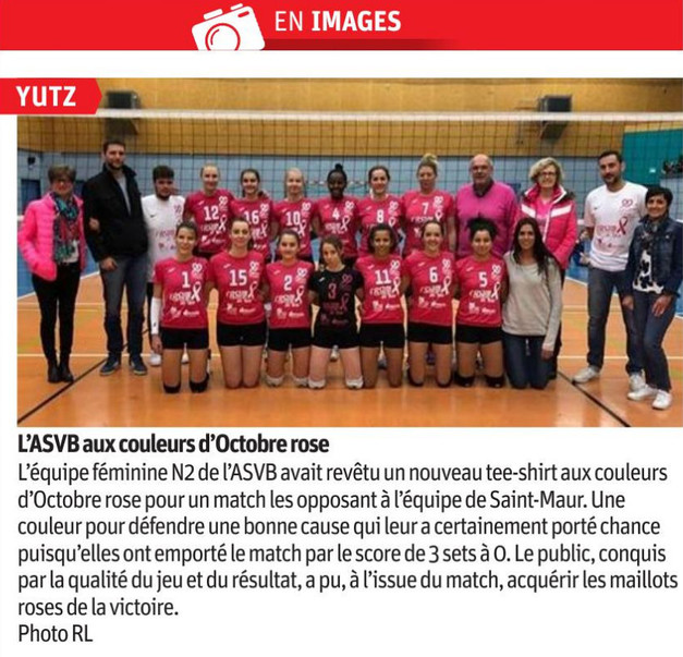 Article du 2018.11.02 Octobre Rose