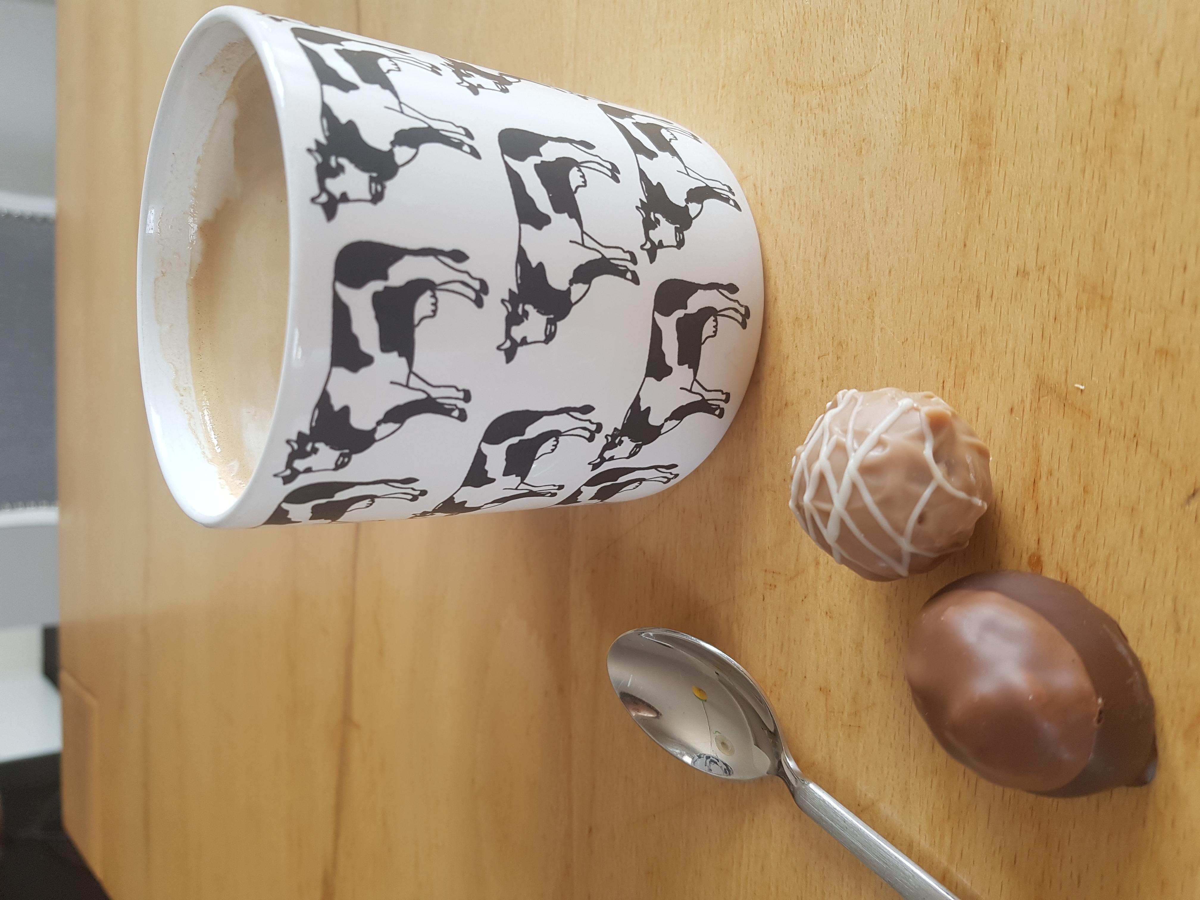 ohne Kaffee und Schokolade läuft wenig