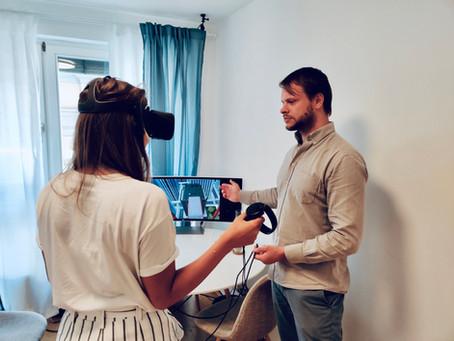 """""""In Virtual Reality kann ich als Therapeut Reize variieren und kontrolliert steigern"""""""