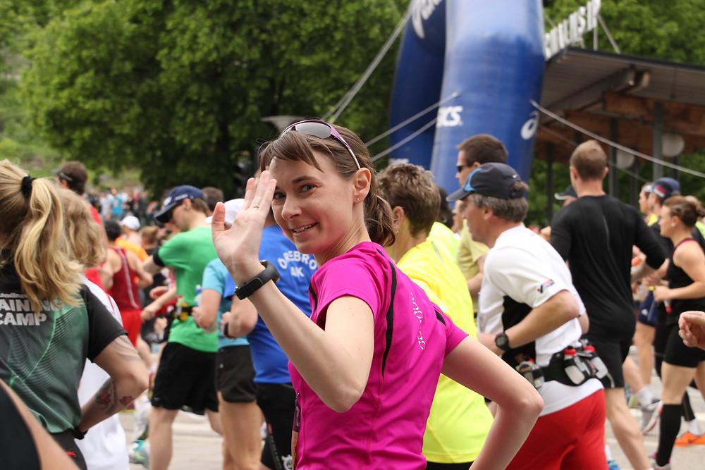Carola Epple startet beim Stockholm-Marathon