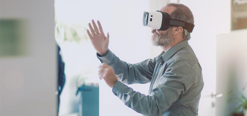 Virtual Reality erweckt leicht echte Gefühle und auch echte Angst